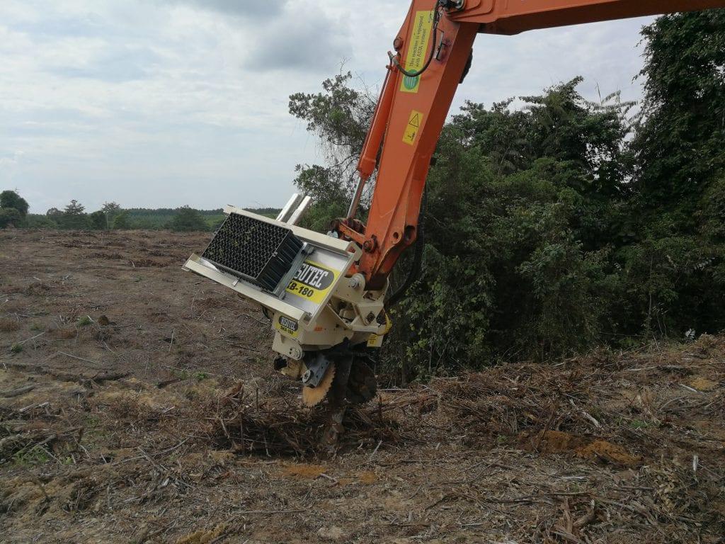 soil treatment for mechanical planting